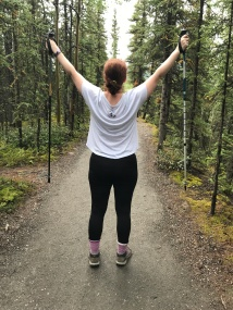 Hiking Horseshoe, Knee Surgery, Physical Therapy, Denali
