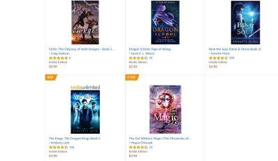 The Girl Without Magic 100 on Amazon
